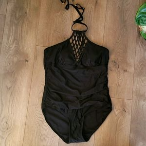 Swimsuit for all black one piece swimsuit